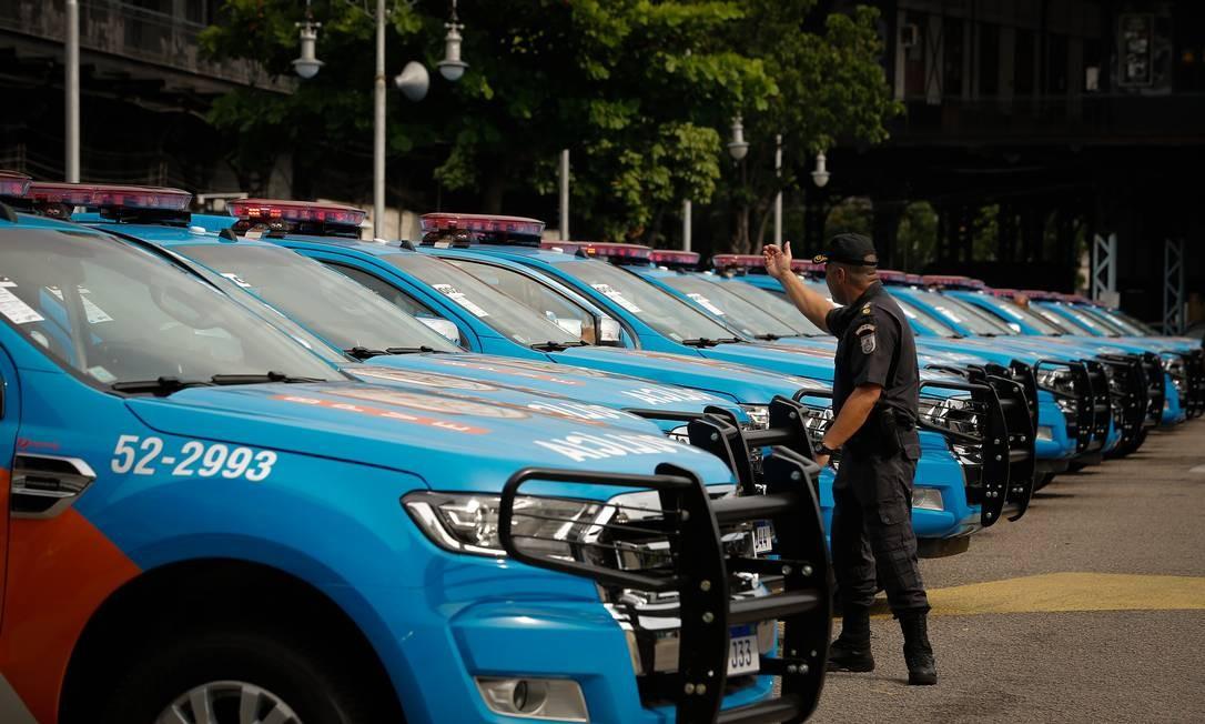 Os policiais militares ficaram de fora da reforma aprovada na Câmara Foto: Pablo Jacob / Agência O Globo