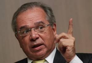 O ministro da Economia Paulo Guedes Foto: Amanda Perobelli / Reuters