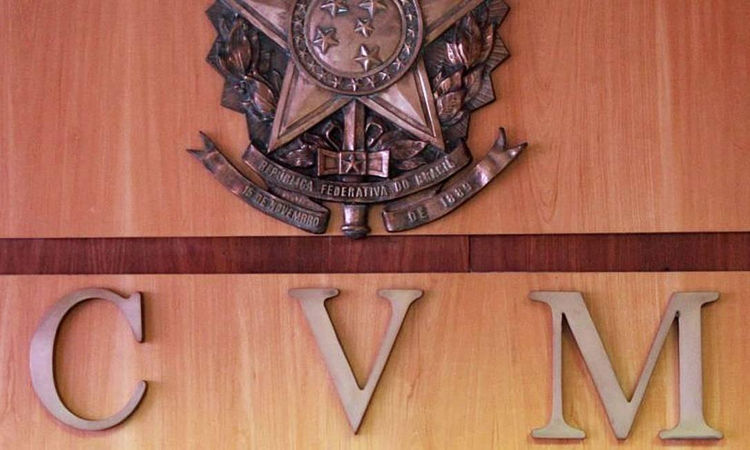 Logo da CVM Foto: Reprodução