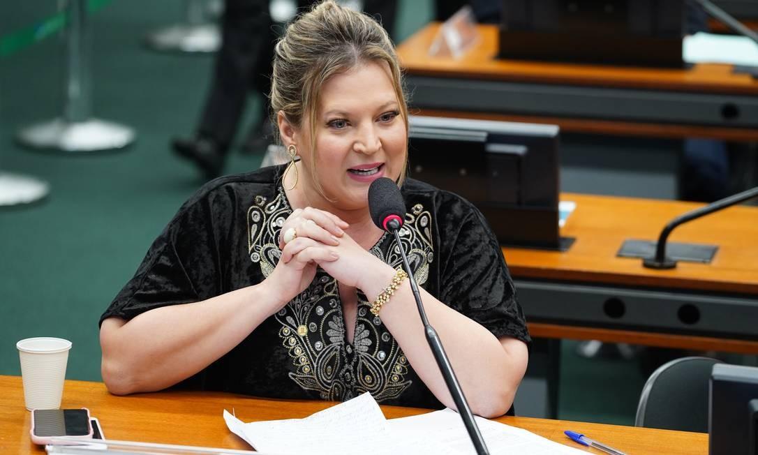 Líder do governo na Câmara, Joice Hasselmann, defende que governo não apresente texto de reforma tributária Foto: Agência O Globo
