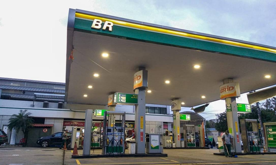 Posto de gasolina Foto: Gabriela Fittipaldi / Agência Globo