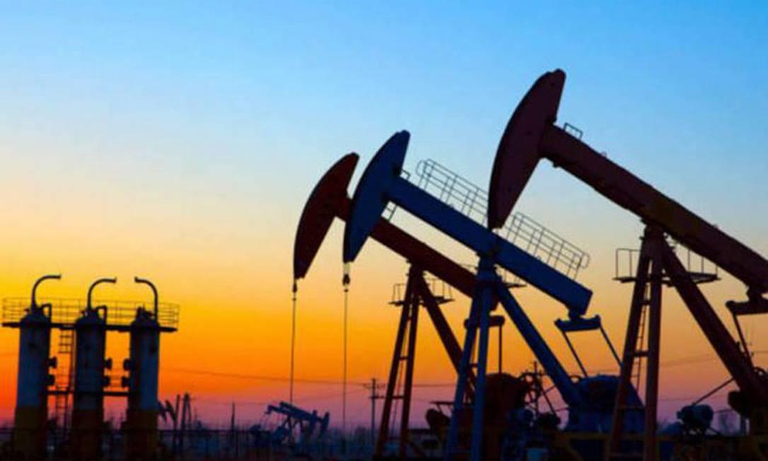 Camos terrestres de petróleo da Petrobras Foto: Divulgação