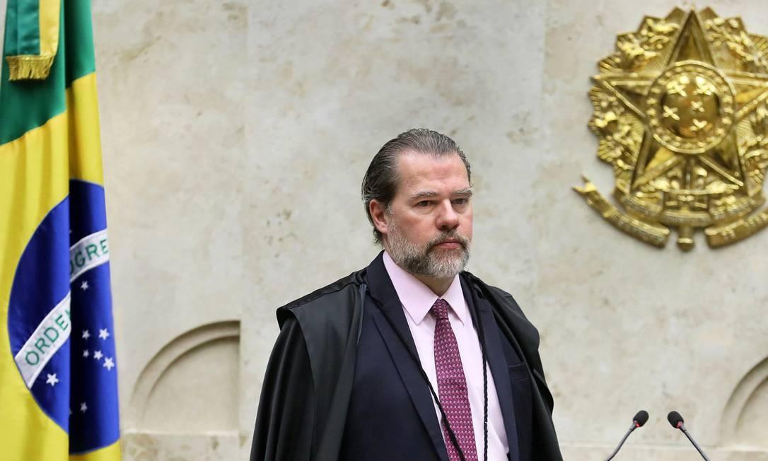 Ministro Dias Toffoli, presidente do STF Foto: Nelson Jr./STF / Agência O Globo
