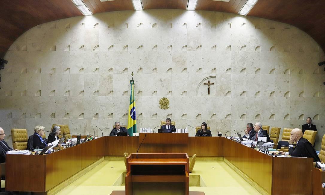Maioria do STF votou contra redução de salários Foto: Agência O Globo