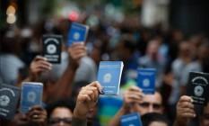 Brasil criou 43 820 mil vagas de trabalho com carteira assinada no mês de julho Foto: Agência O Globo