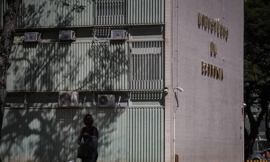 Prédio do Ministério da Economia em Brasília Foto: Daniel Marenco / Agência O Globo