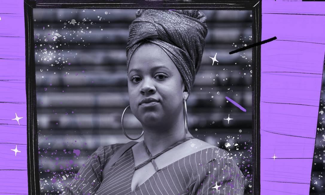 """Para mulheres. A economista Gabriela Mendes criou o curso No Front Empoderamento: """"As mulheres, principalmente as negras, têm uma história em torno do dinheiro que precisa ser resgatada"""" Foto: Arte sobre foto de Edilson Dantas"""