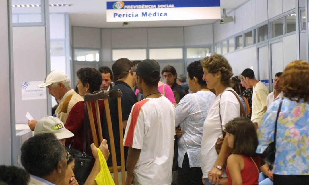 Perícia médica do INSS Foto: Arquivo