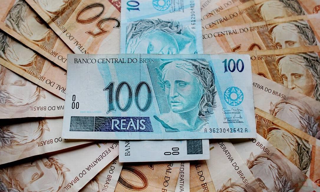 Notas de real: déficit é estimado em quase meio trilhão de reais Foto: Pixabay