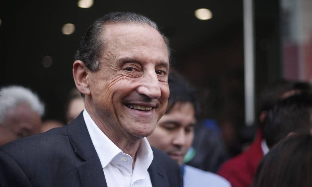 Presidente da Federação das Indústrias de São Paulo, Paulo Skaf Foto: Marcos Alves / Agência O Globo
