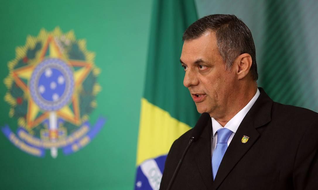 Porta voz da Presidência da República, Otávio Rego Barros. Foto: Jorge William / Agência O Globo