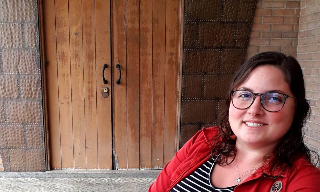 """Stella Vaz obteve o Tech Visa: """"Recebi por correio o meu contrato de trabalho e a passagem de avião"""" Foto: Gian Amato"""