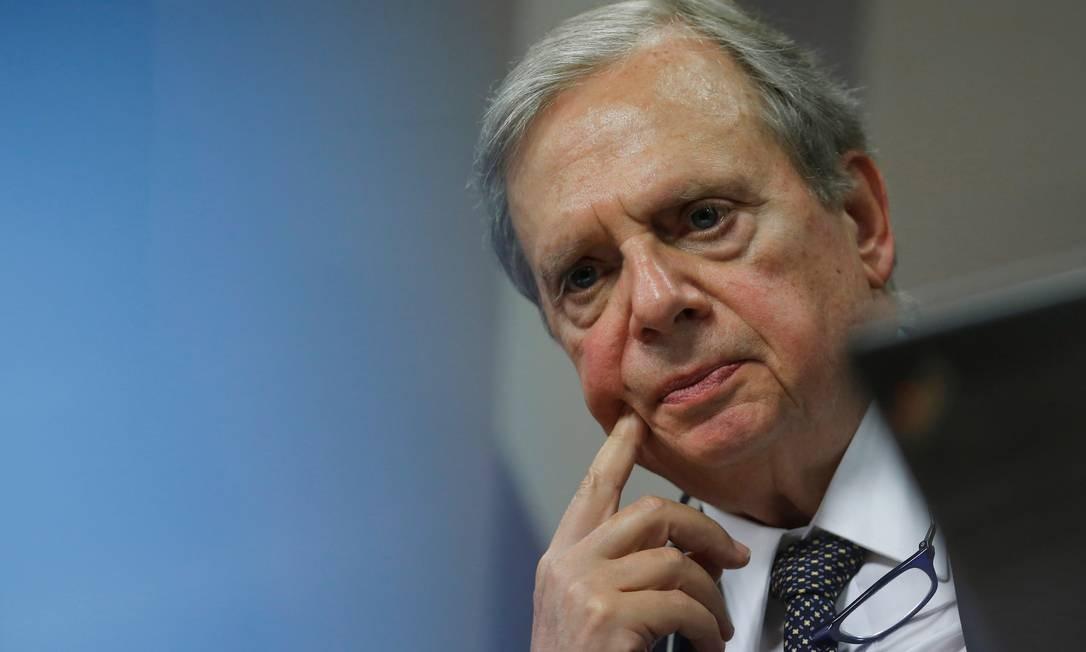 Senador Tasso Jereissati, relator da reforma da Previdência na CCJ do Senado Foto: Adriano Machado / Reuters