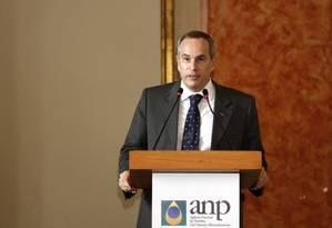 Diretor-geral da ANP, Decio Oddone Foto: Fábio Rossi / Agência O Globo