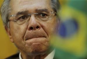 Ministro da Economia, Paulo Guedes Foto: Marcelo Theobald / Agência O Globo