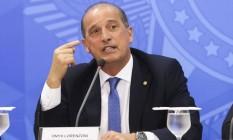 Ministro-chefe da Casa Civil, Onyx Lorenzoni Foto: Agência Brasil