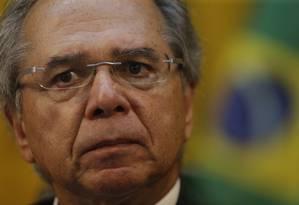 O ministro da Economia, Paulo Guedes, quer entrar logo no 'clube dos países ricos' Foto: Marcelo Theobald / Agência Globo