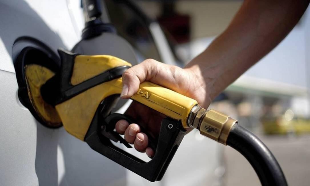Posto de gasolina Foto: Gustavo Stephan / Agência Globo