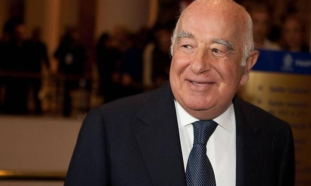 O banqueiro Joseph Safra Foto: Agência O Globo