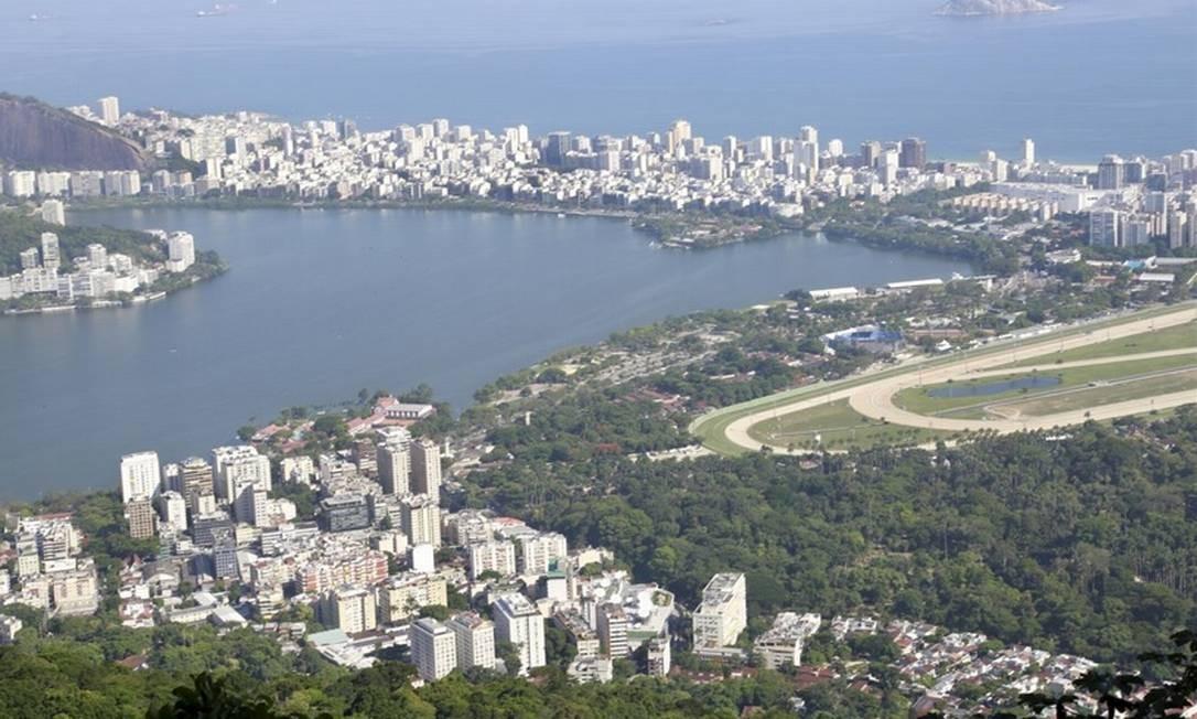 RIO - Zona Sul Foto: Marcos Ramos - Agência O Globo