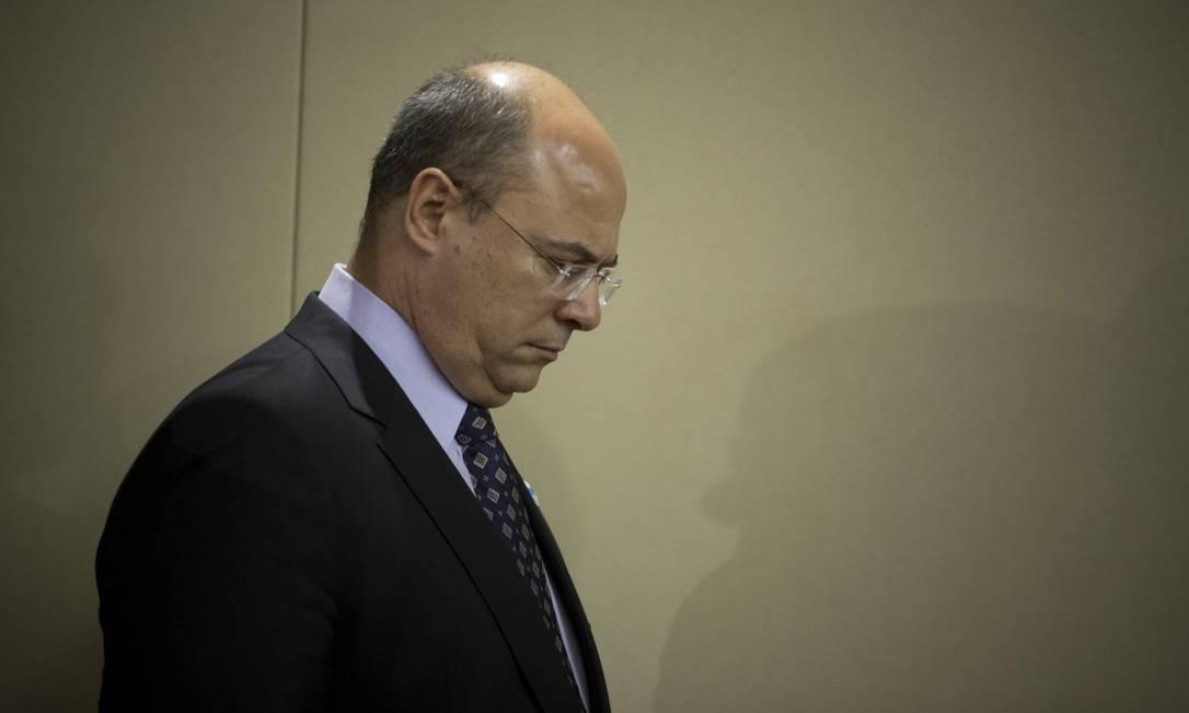 Governador do Rio, Wilson Witzel Foto: Márcia Foletto / Agência O Globo