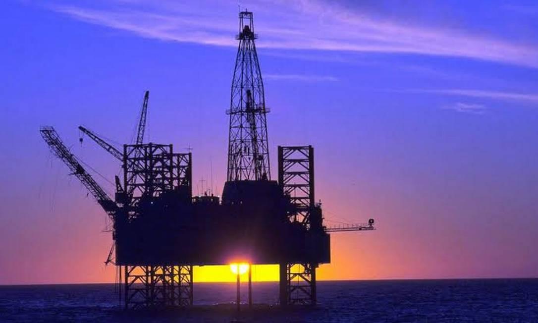 Plataforma de Petróleo Foto: Reprodução
