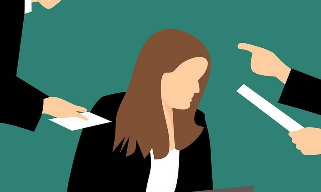 Pesquisa mostra que cerca de 60% das mulheres europeias já sofreram sexismo no trabalho Foto: Pixabay