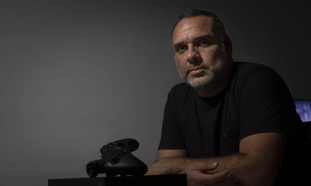 Alessandro foi orientado a usar rede não autorizada Foto: Alexandre Cassiano / Agência O Globo