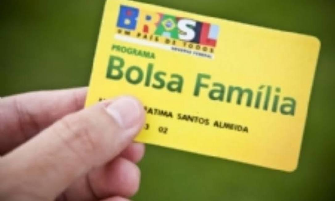 Cartão do Bolsa Familia Foto: Reprodução