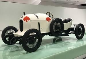 """Austro-Daimler """"Sascha"""" (1922), o primeiro esportivo desenhado por Ferdinand Porsche Foto: Jason Vogel"""