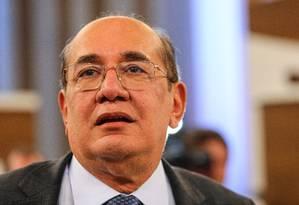 Gilmar Mendes, ministro do Supremo Tribunal Federal Gilmar Mendes Foto: Marcello Fim / Agência O Globo