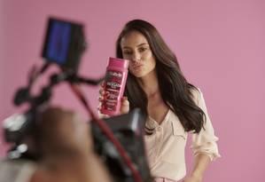 12.09.2019 A atriz Paola Oliveira no making of da campanha da Duty Color Foto de Cadu Pilotto Foto: Divulgação/Cadu Pilotto