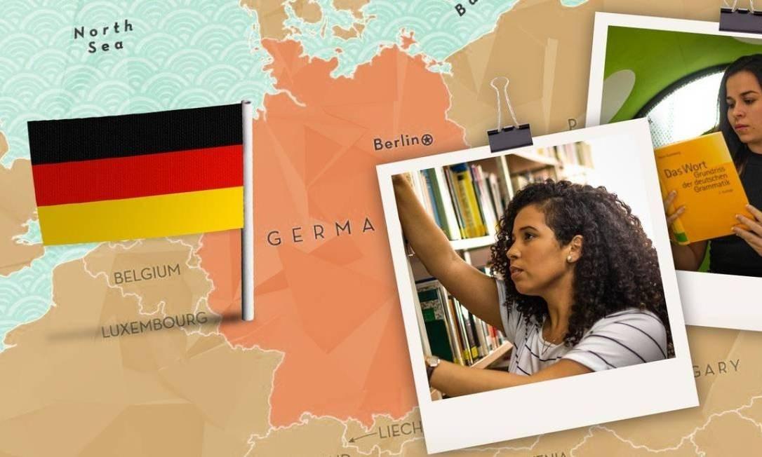Alemanha Foto: Montagem O Globo