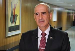 Ministro da secretaria de Governo, Luiz Eduardo Ramos Foto: Reprodução