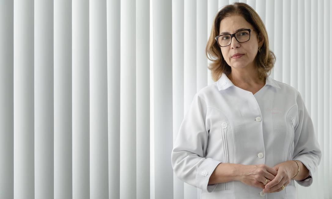 A médica Anna Thereza Nogueira quer se aposentar aos 70 anos e optou por fundo de previdência que cobre doença Foto: Leo Martins / O Globo