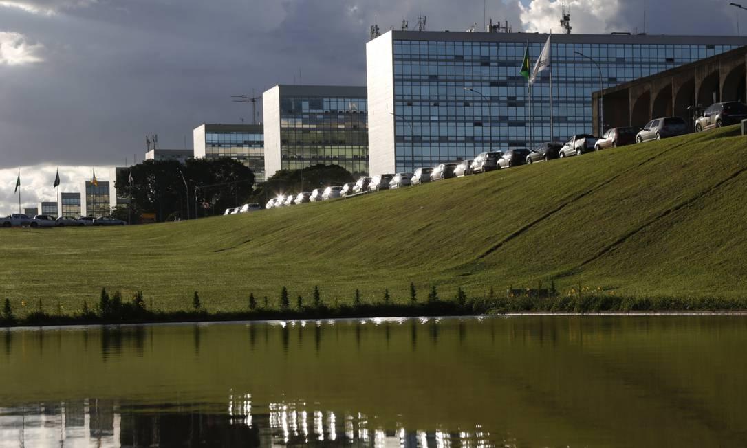 Esplanada dos Ministérios, em Brasília Foto: Michel Filho / Agência O Globo