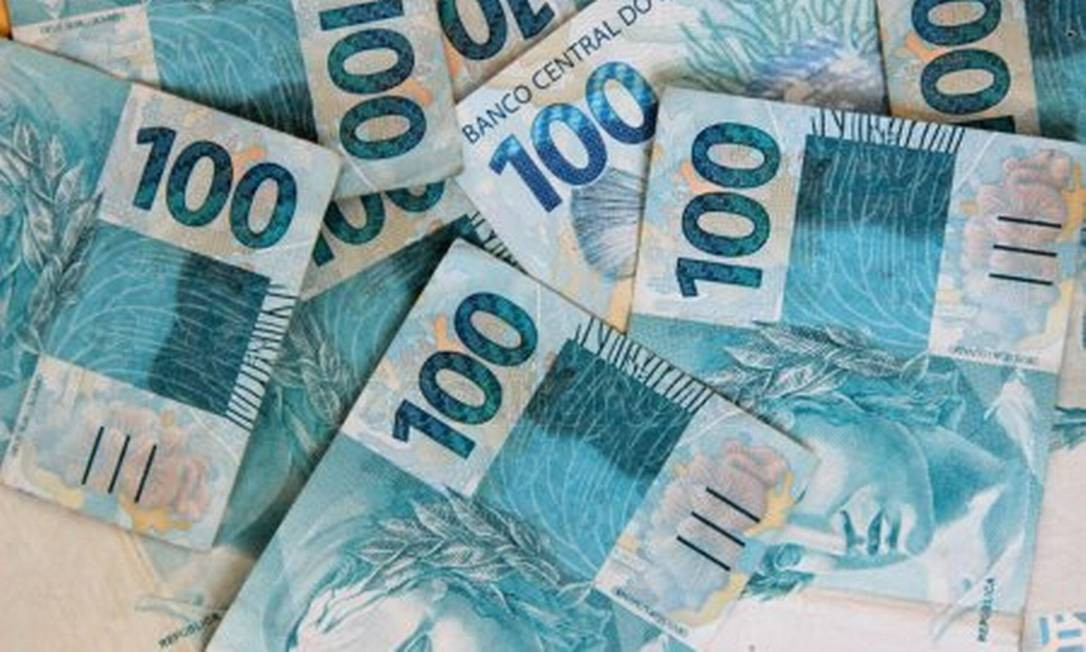 Notas de R$ 100 Foto: Reprodução