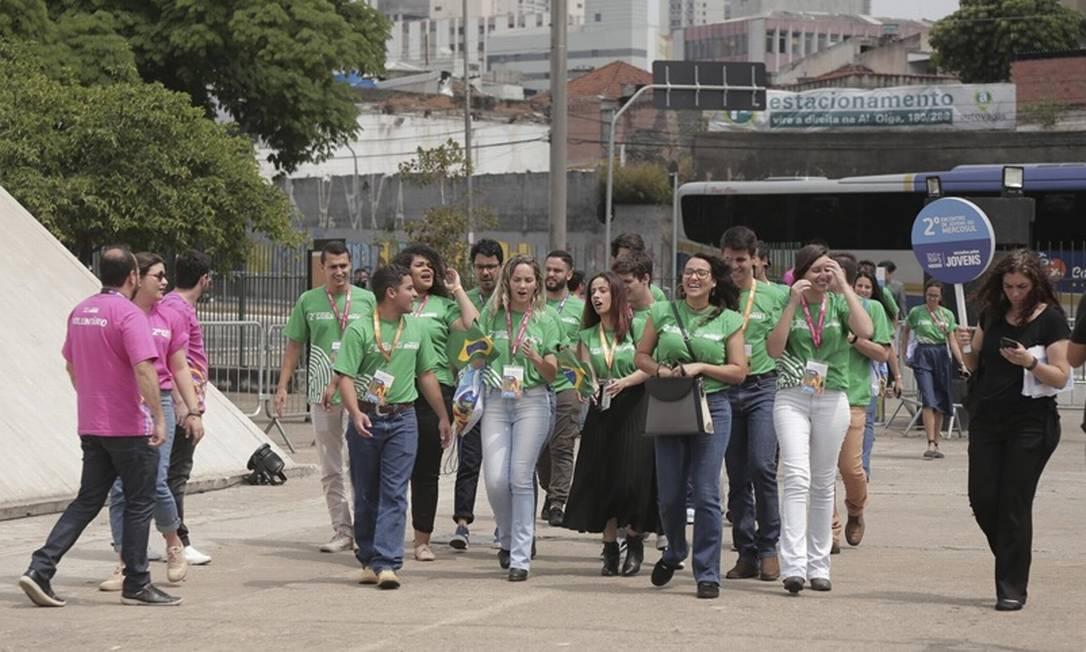 Encontro entre jovens e empresários em São Paulo discutiu como ambos podem se conectar com maior precisão para o trabalho do futuro Foto: Divulgação