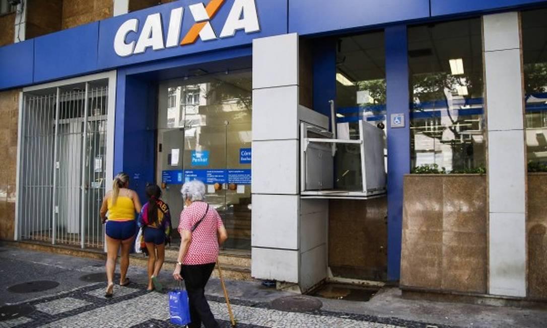 Caixa Econômica anunciou um lucro líquido de R$ 8,026 bilhões no terceiro trimestre de 2019 Foto: Bárbara Lopes / Agência O Globo
