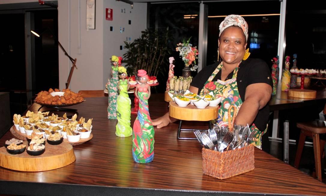 Débora Fidelis, de 37 anos, criou um buffet e teve o acesso a crédito negado diversas vezes Foto: Divulgação / Divulgação
