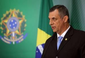 Briefing do porta voz da Presidência da República, Otávio Rego Barros Foto: Jorge William / Agência O Globo