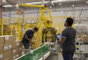 A cidade de Jundiaí, em São Paulo, é um dos municípios brasileiros que atraiu investimento estrangeiro. Tendência, agora, é de cautela Foto: Edilson Dantas / Agência O Globo