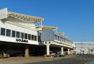 Aeroporto de Goiânia Foto: Agência O Globo