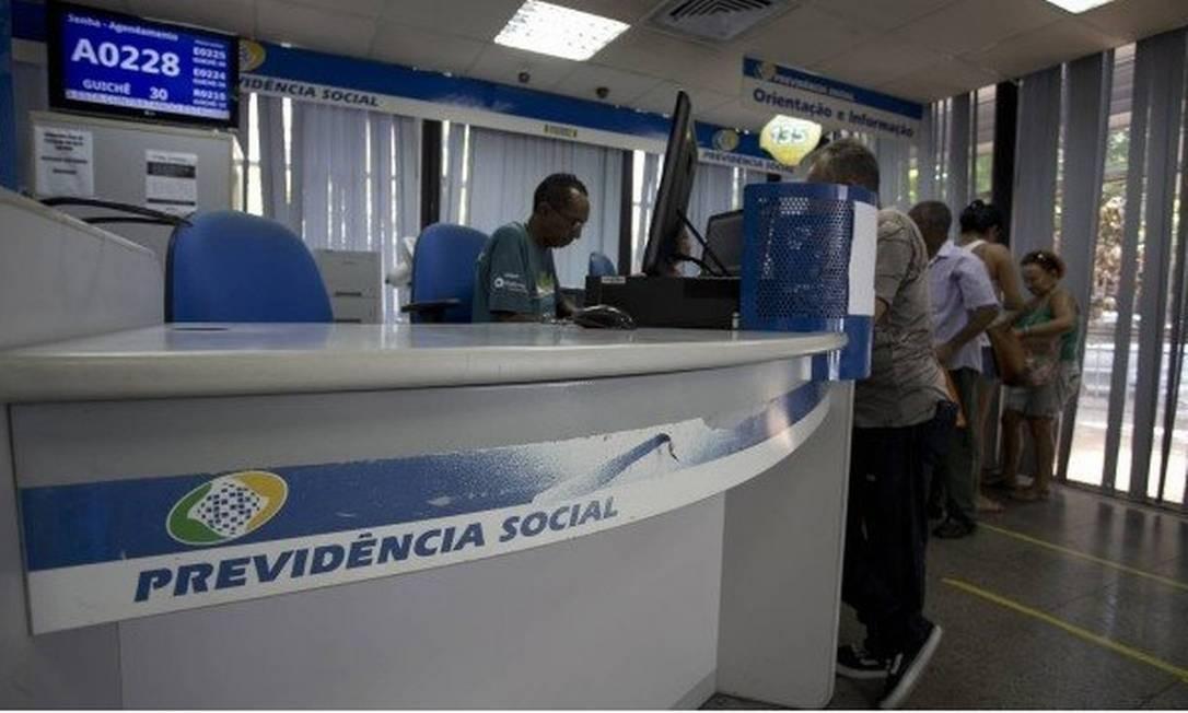 INSS: universo de 1,84 milhão beneficiários com processos suspeitos estão sendo notificados Foto: Márcia Foletto-Agência O Globo