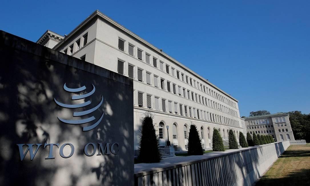 Sede da OMC em Genebra: paralisia à vista. Foto: Denis Balibouse / REUTERS