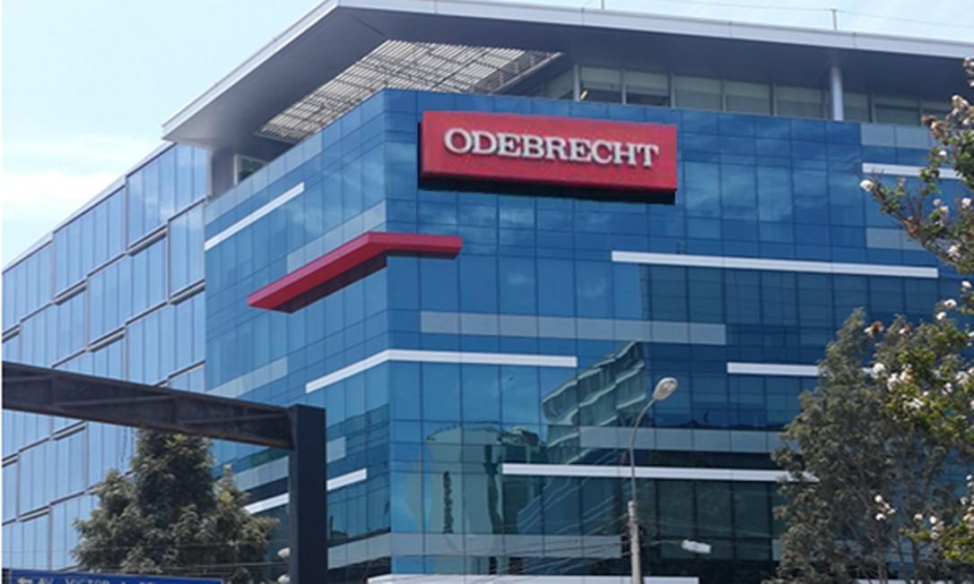 Fachada de prédio da Odebrecht Foto: Divulgação