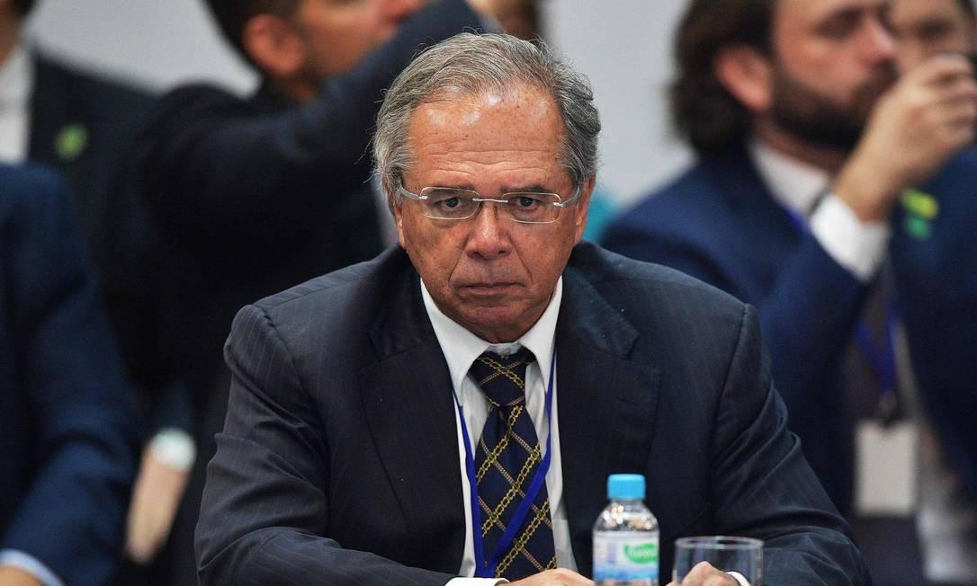 Ministro da Economia, Paulo Guedes Foto: Carl de Souza / AFP