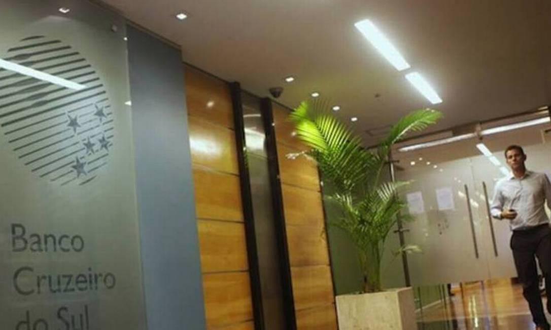 Banco Cruzeiro do Sul Foto: Reprodução