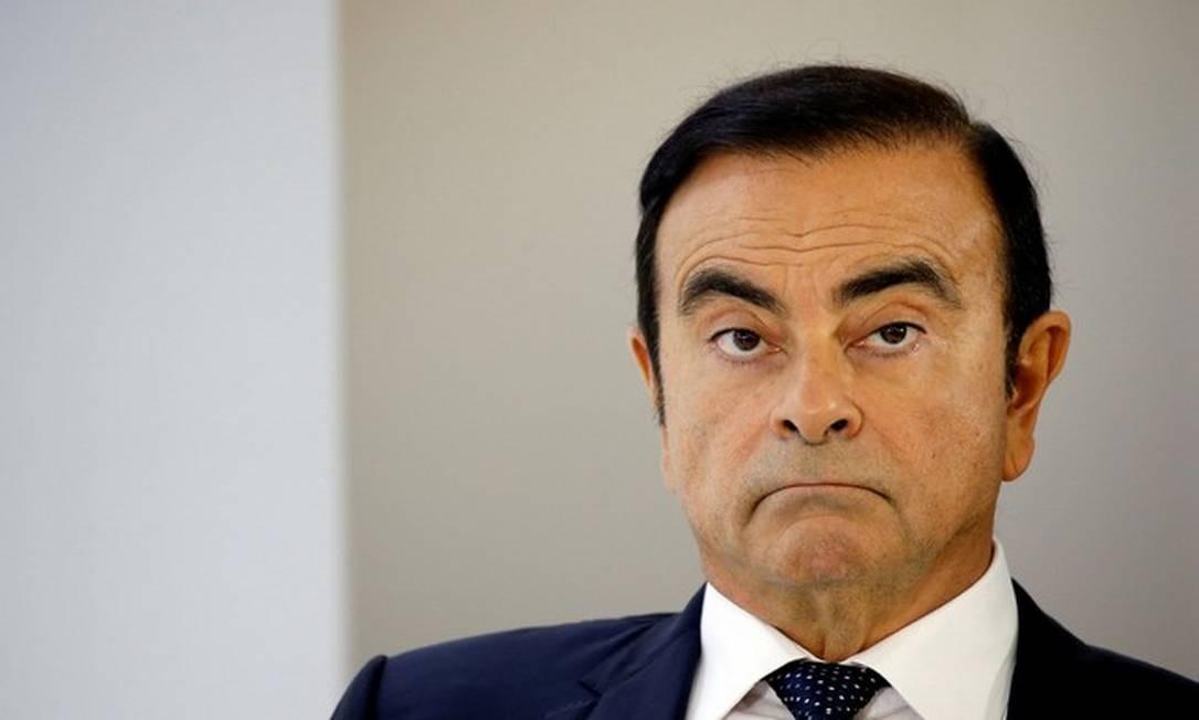 Ghosn, de 65 anos, cumpria prisão domiciliar no Japão desde abril e deveria ir a julgamento nos próximos meses. Foto: Reuters