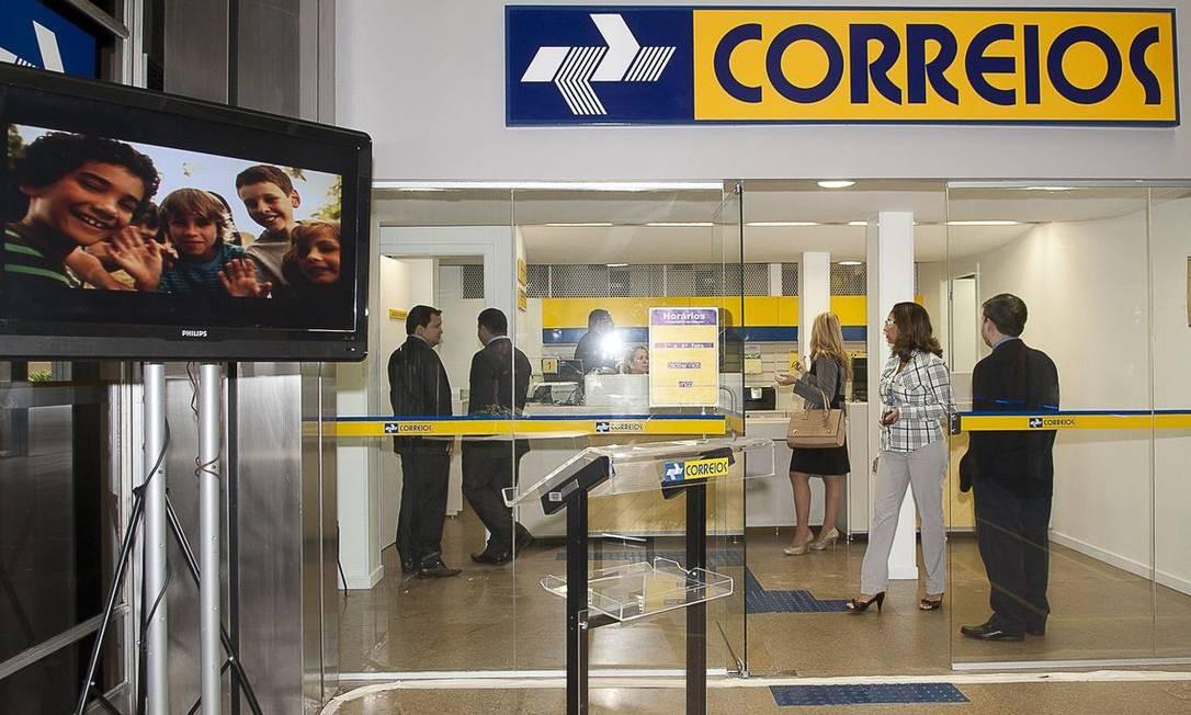 Agência dos Correios Foto: Agência Brasil